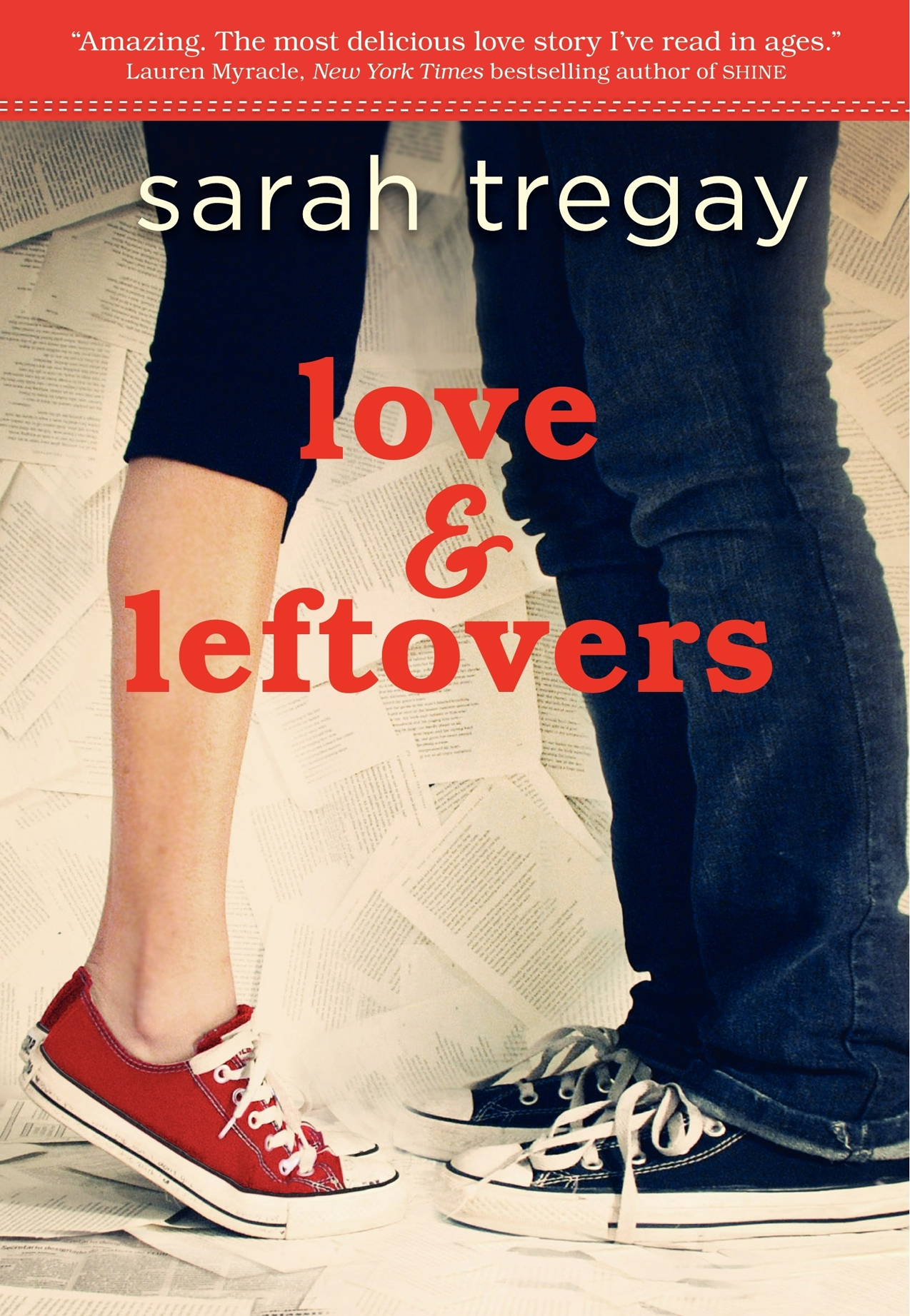Love & Leftovers by Sarah Tregay - Giveaway on Clear Eyes, Full Shelves