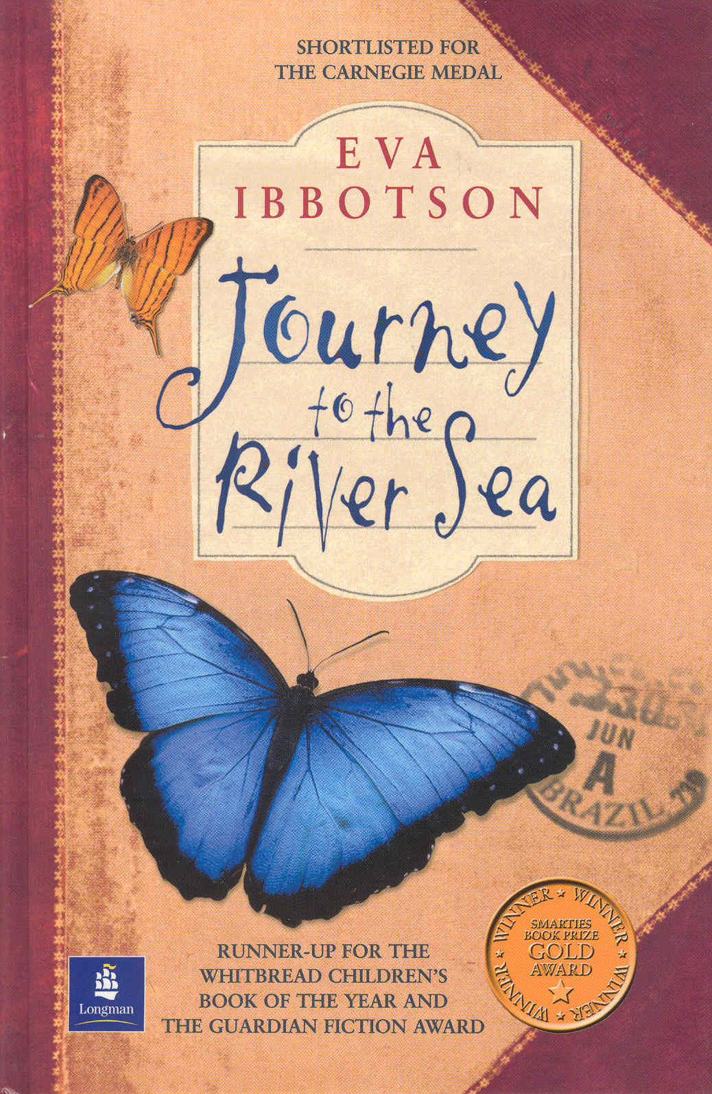 Journey to the River Sea by Eva Ibottson
