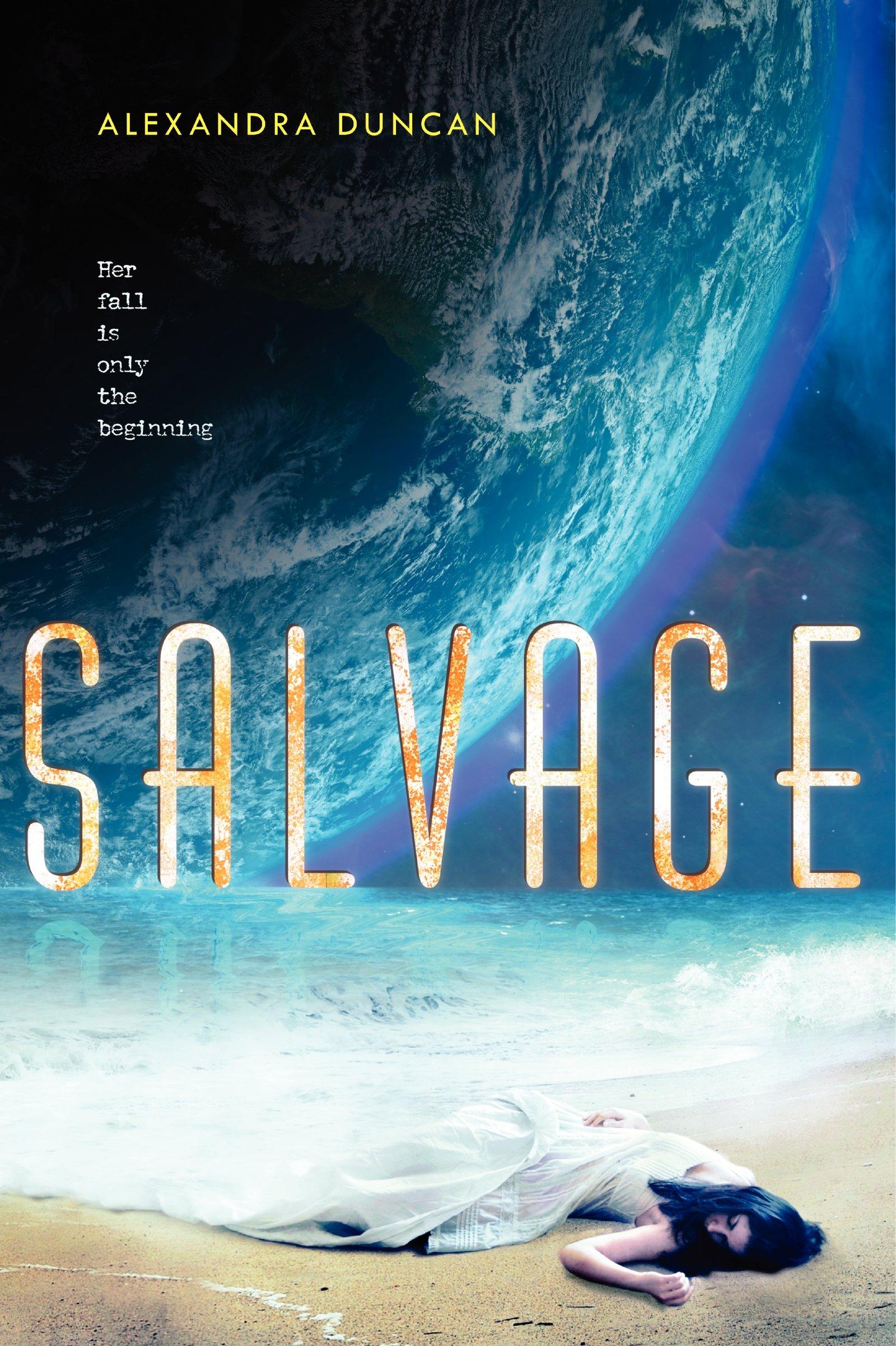 Salvage by Alexandra Duncan (Audio)  Amazon  |  Goodreads