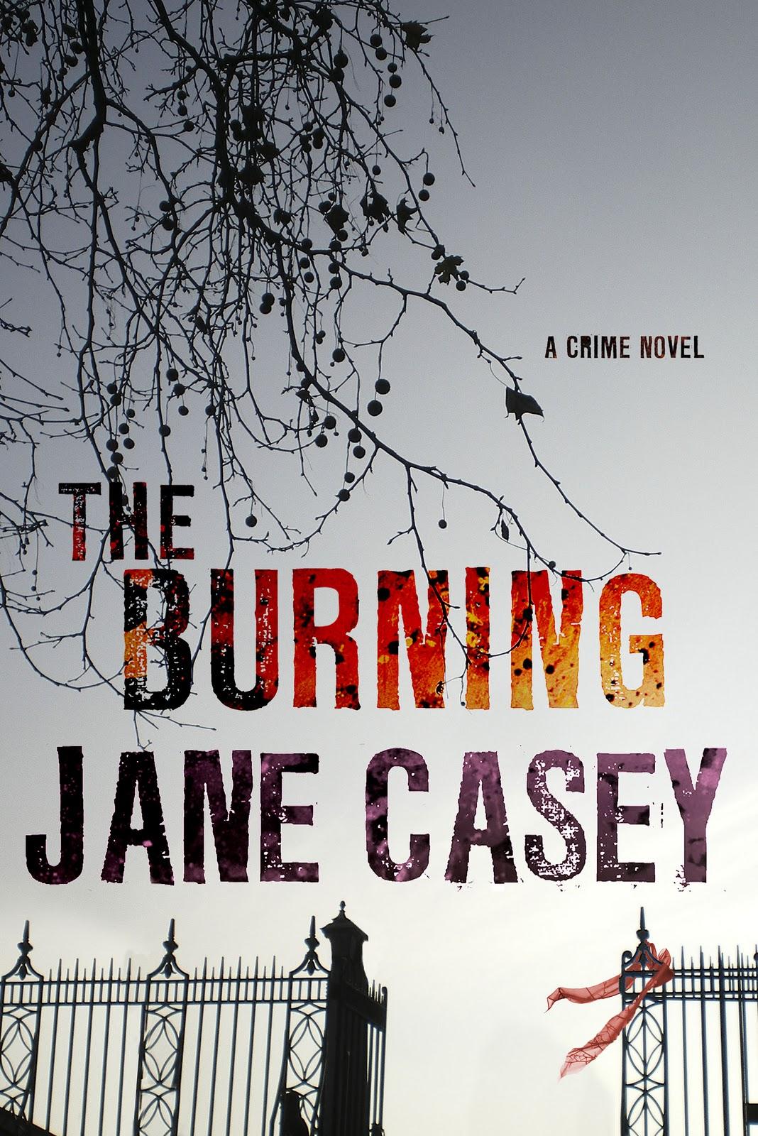 The Burning by Jane Casey  Amazon  |  Goodreads
