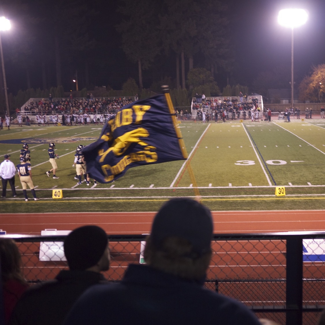 Friday Night LIghts in Canby, Oregon.