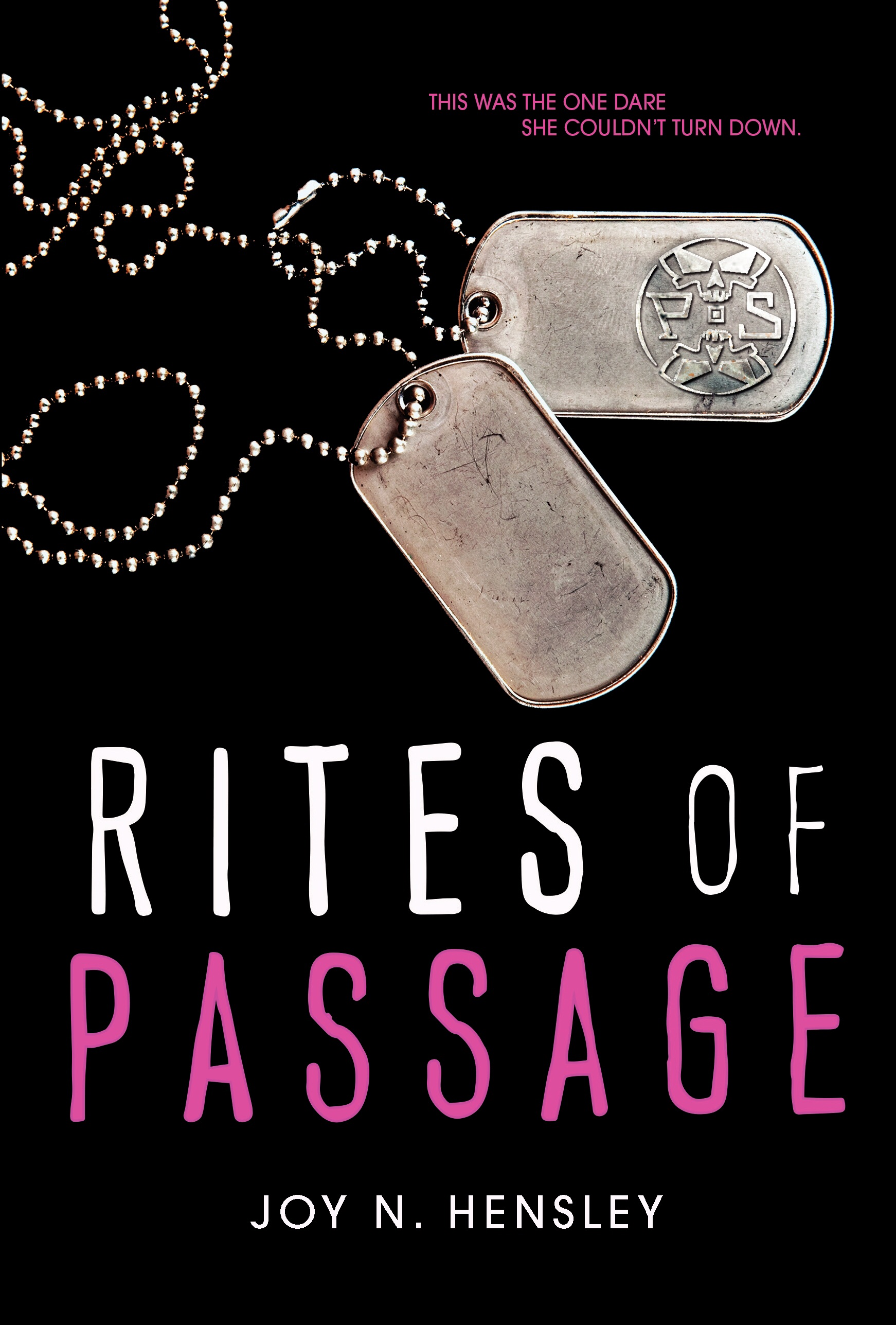 Rites of Passage by Joy N. Hensley on Clear Eyes, Full Shelves