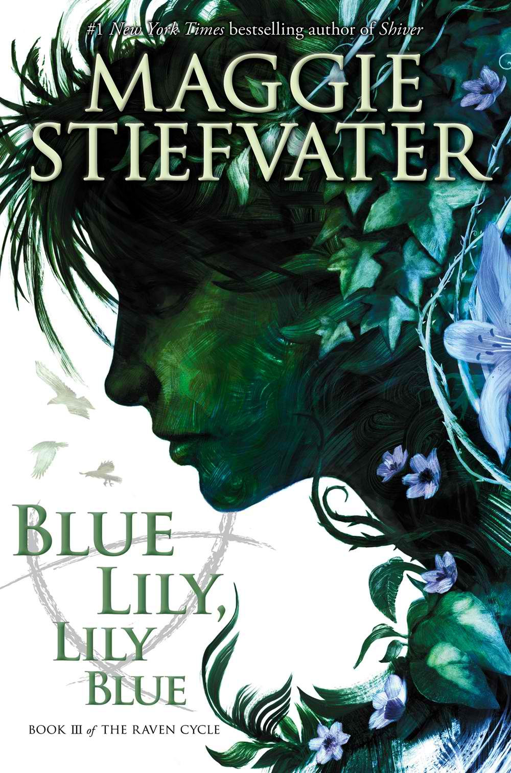 Blue Lily, Lily Blue on Clear Eyes Full Shelves