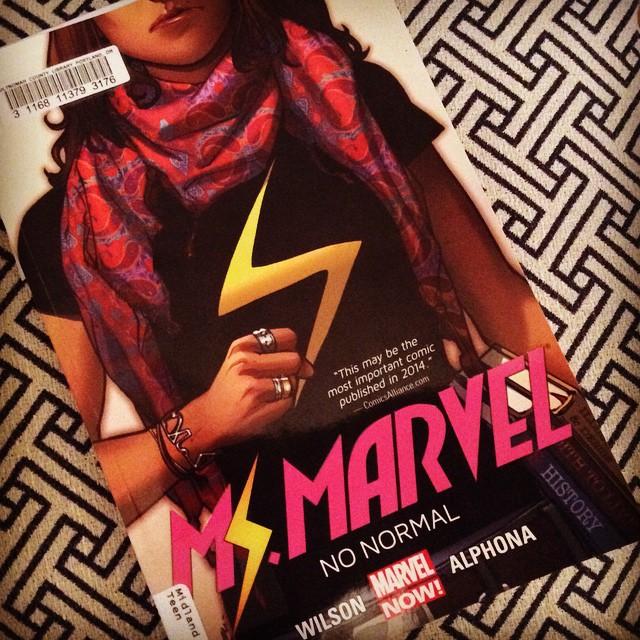 Ms. Marvel - Recommended on Clear Eyes, Full Shelves