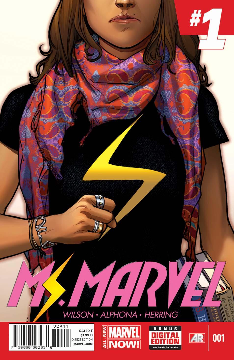 Ms. Marvel | Clear Eyes, Full Shelves