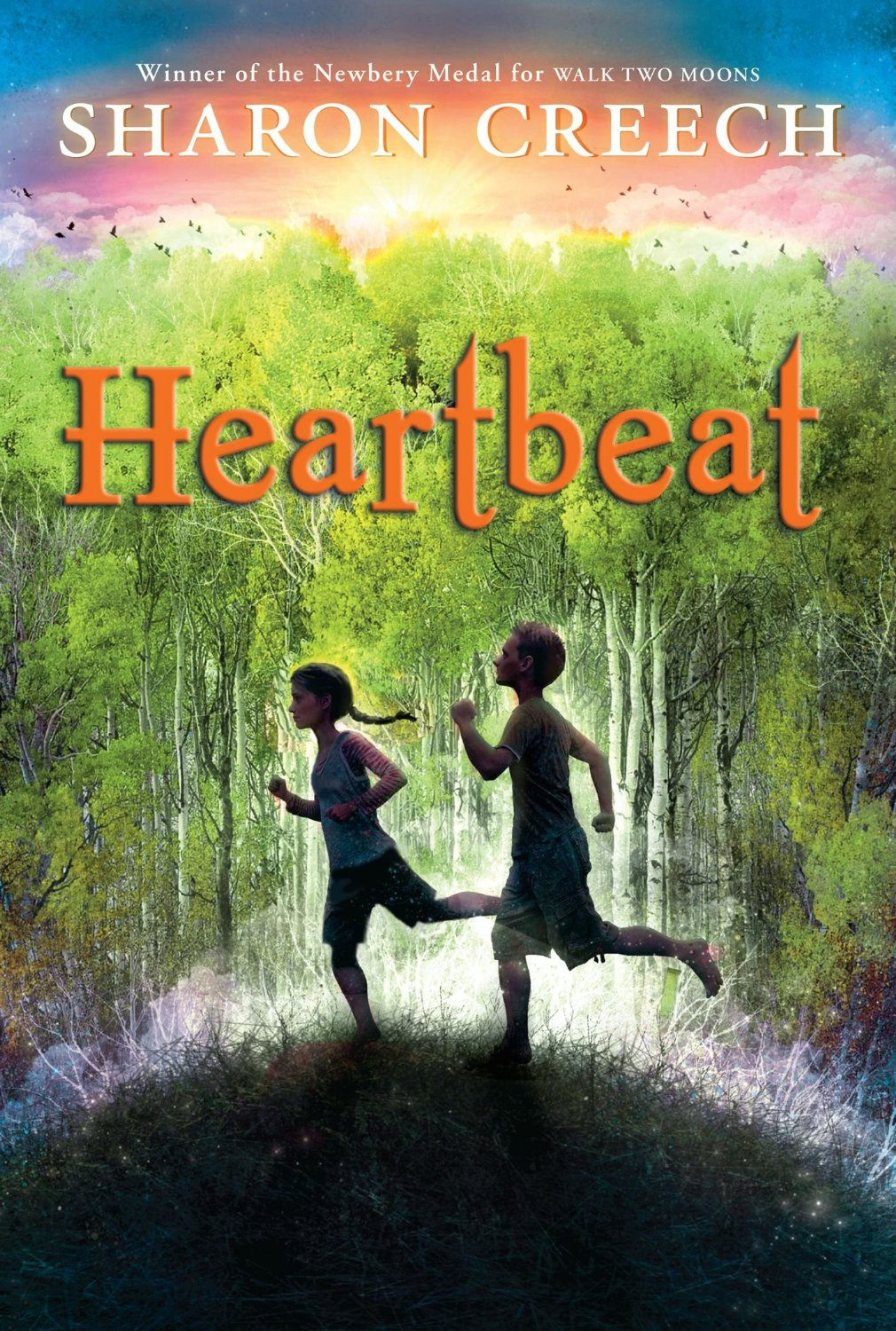 Heartbeat by Sharon Creech - Clear Eyes, Full Shelves