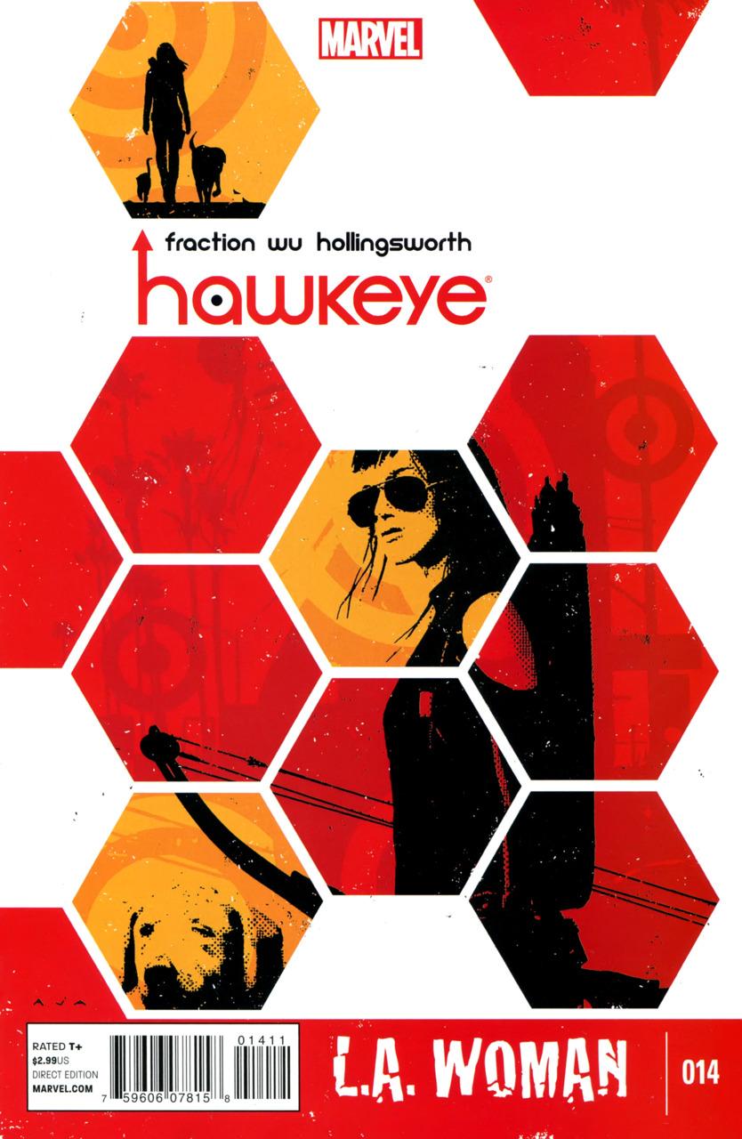 Hawkeye LA Woman