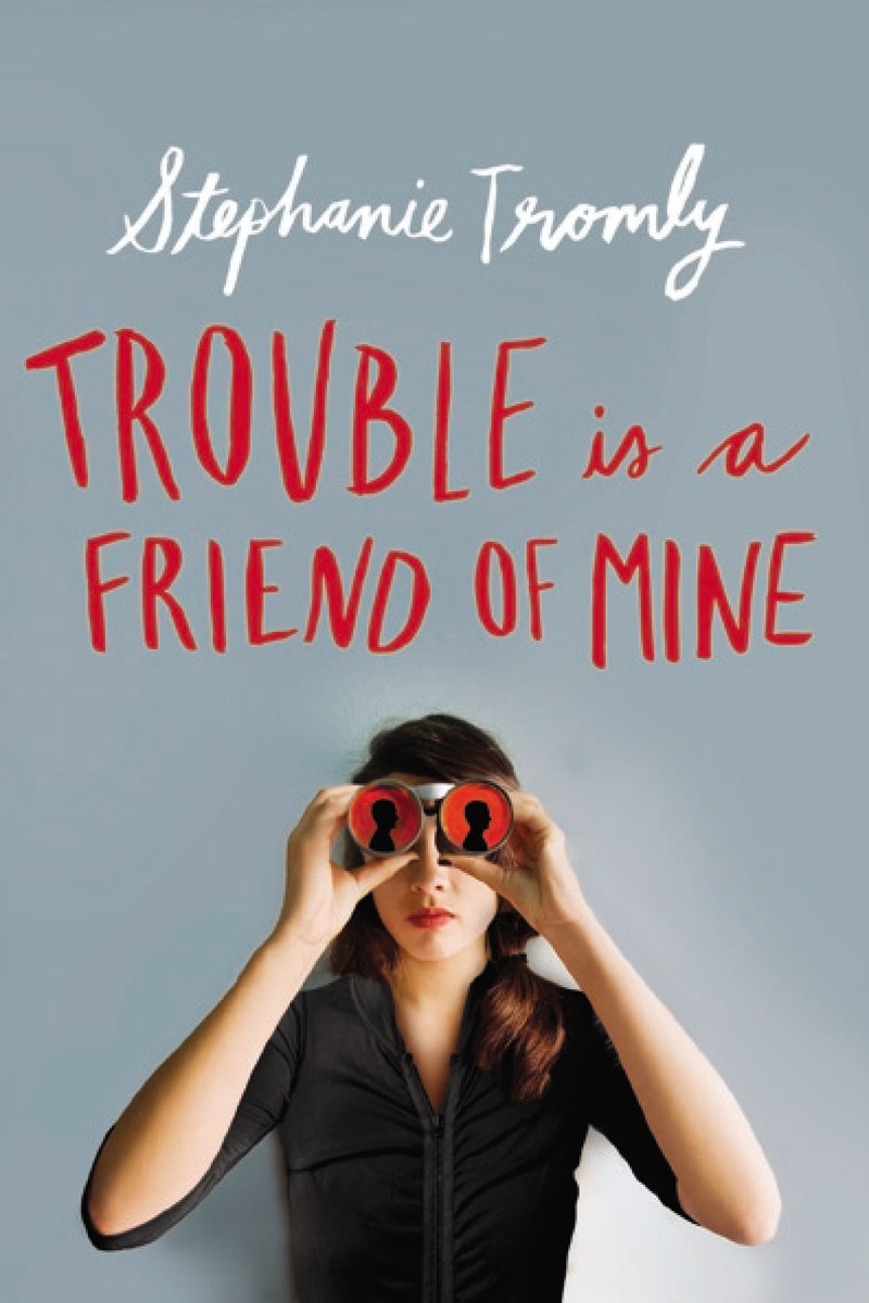 Recommendation Tuesday: Trouble is a Friend of Mine by Stephanie Tromly on Clear Eyes, Full Shelves