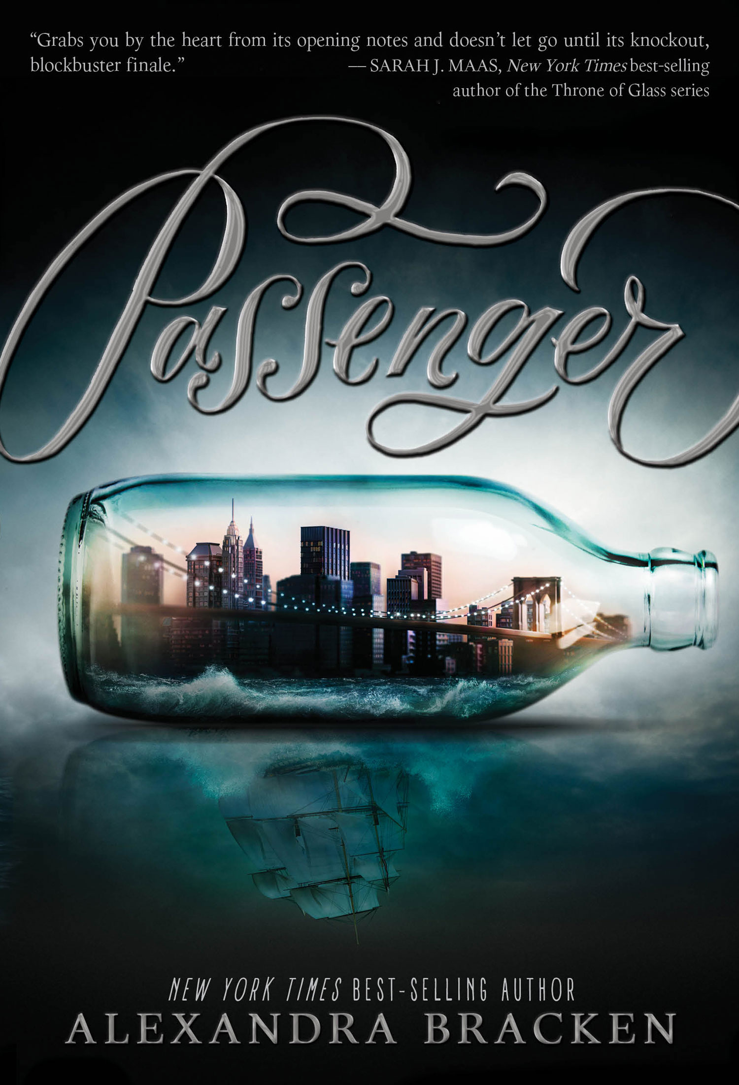 Passenger by Alexandra Bracken - Giveaway on Clear Eyes, Full Shelves