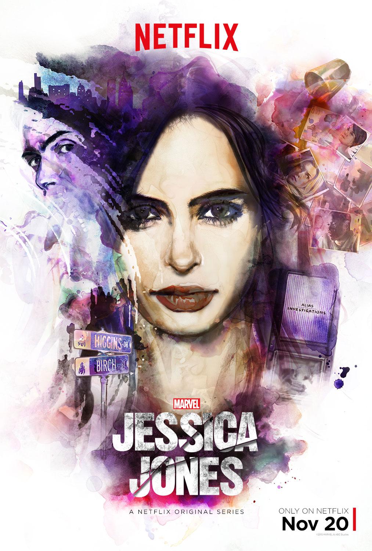 Jessica Jones Promo Poster