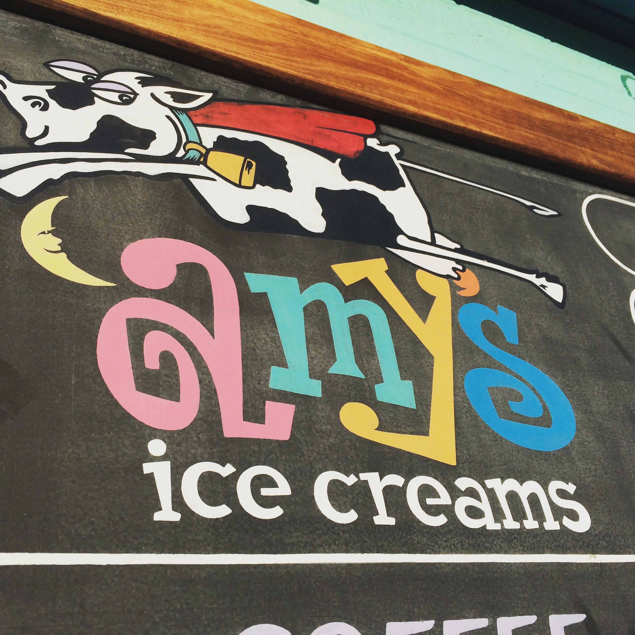 Obligatory trip to Amy's Ice Cream