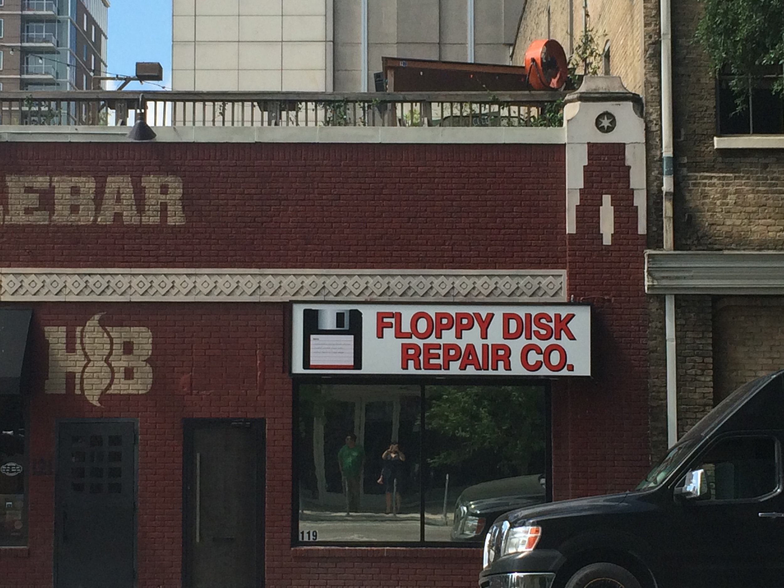 I need my floppy disk repaired. Obviously.