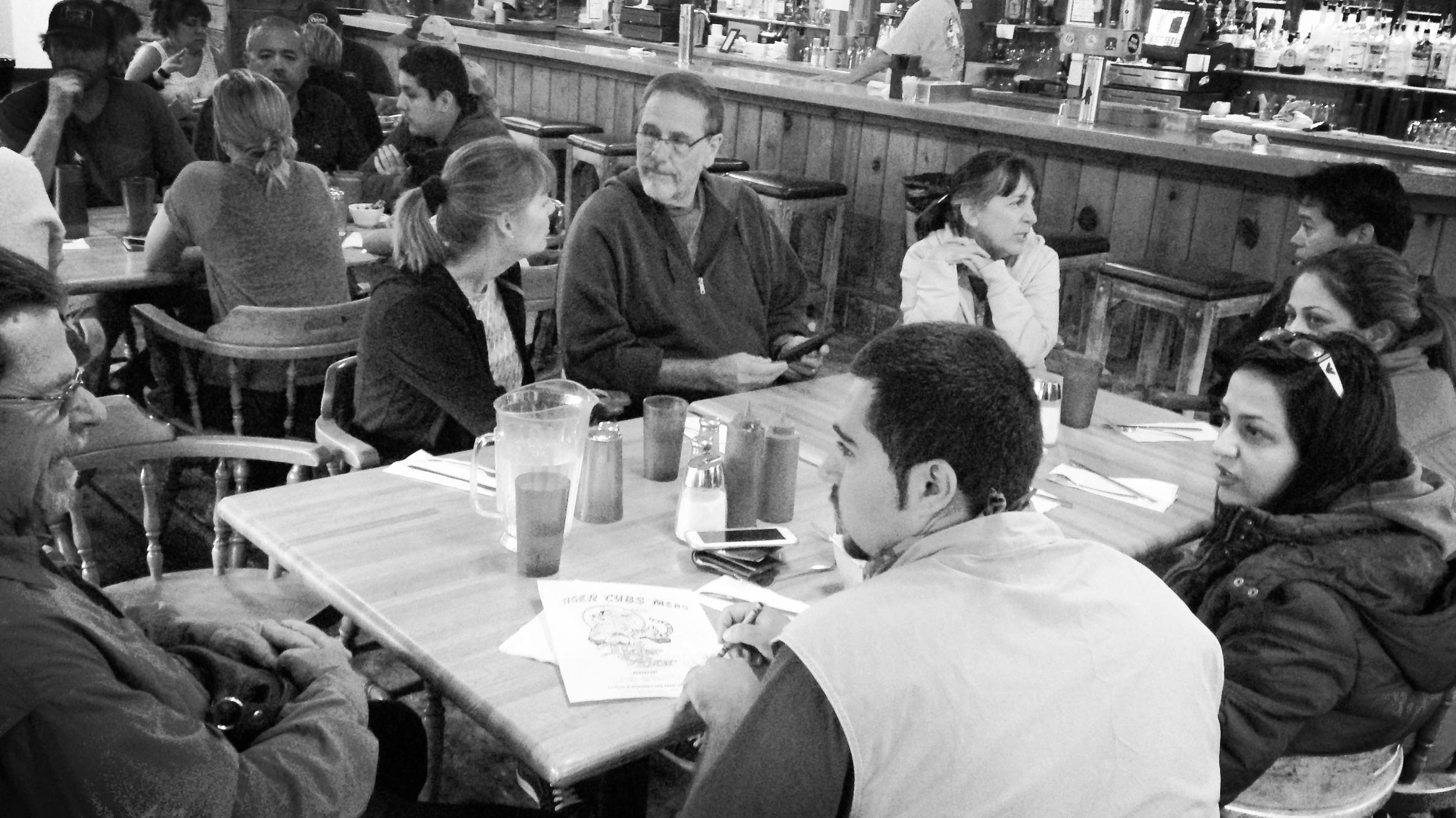 TIger Bar at June Lake, CA