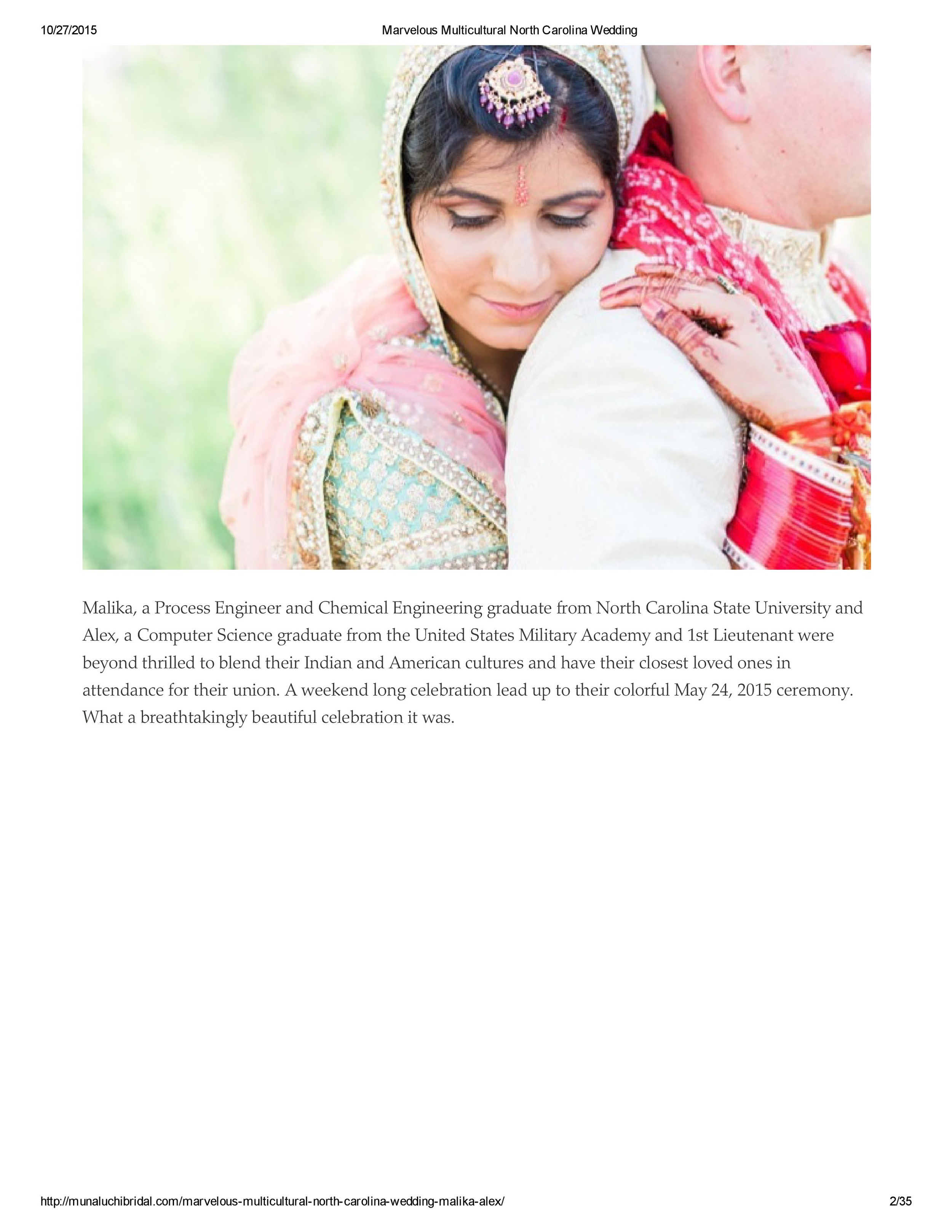 Marvelous Multicultural North Carolina Wedding - Alex & Malika-page-1.jpg