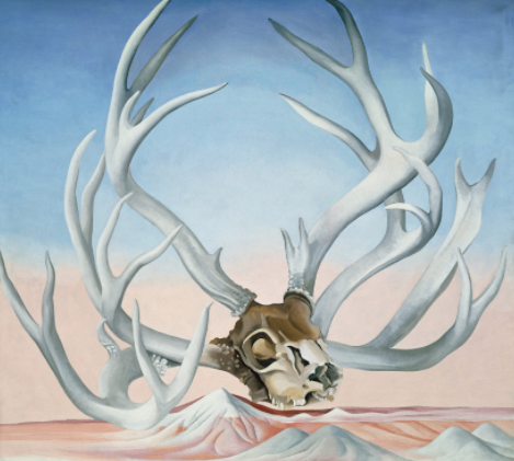 "Georgie O'Keeffe's ""From the Faraway,"" Metropolitan Museum of Art"