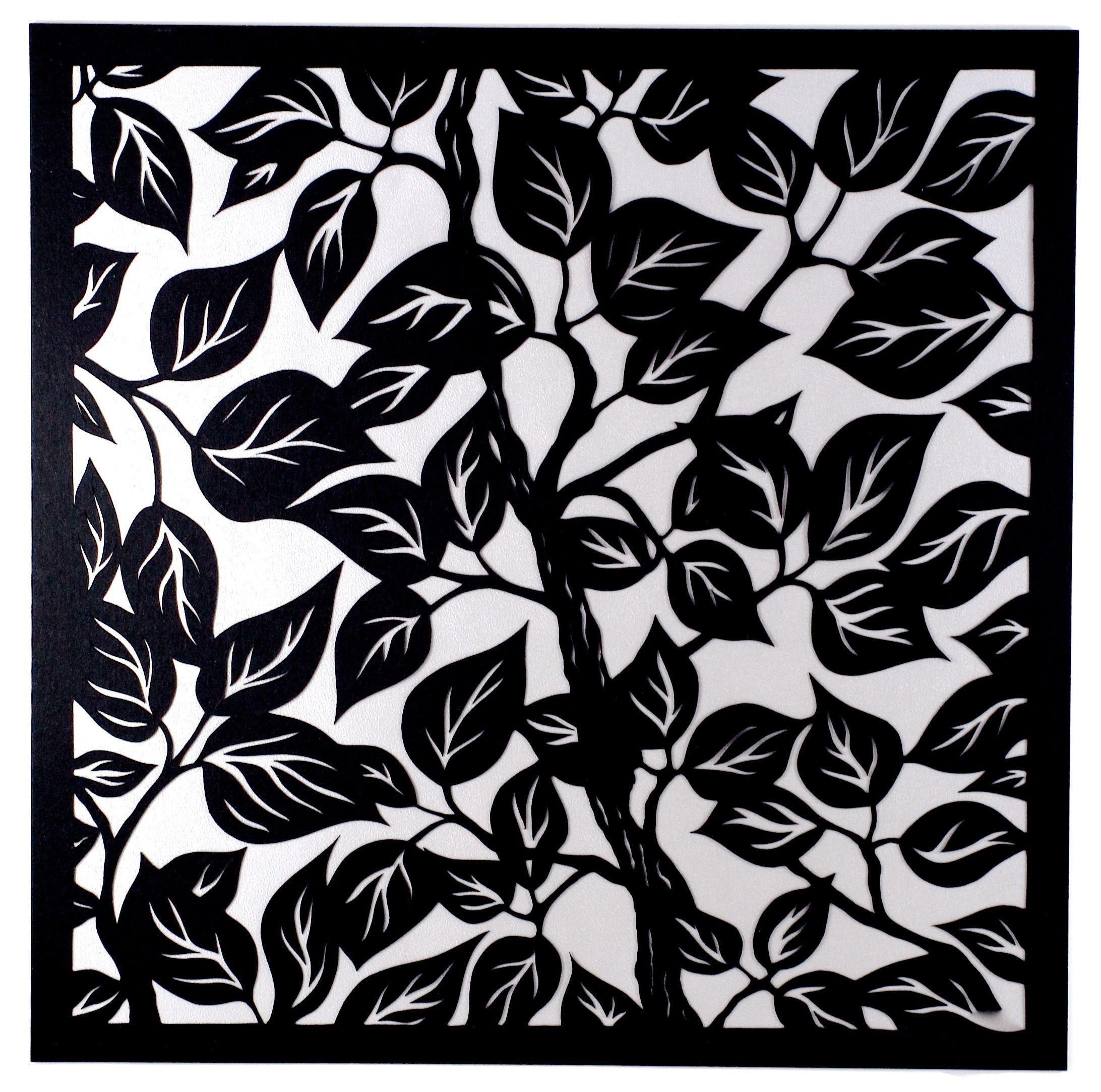 Leaves II:Silver Background.jpg
