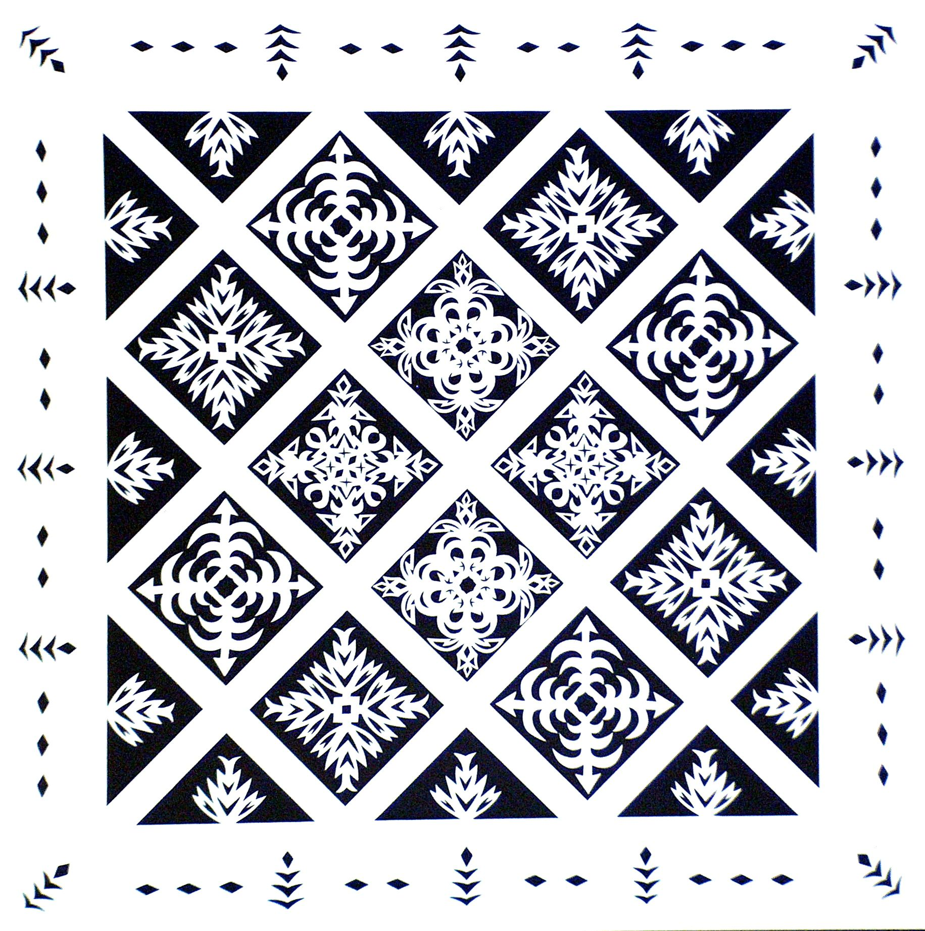 Quilt:White on Black.jpg