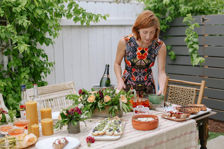 Sometimes I like to match my dress to the tabletop ;) DRESSBAR  butterfly fit and flare  dress