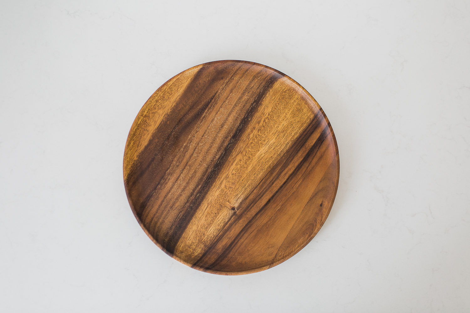 ACACIA CHARGER PLATE