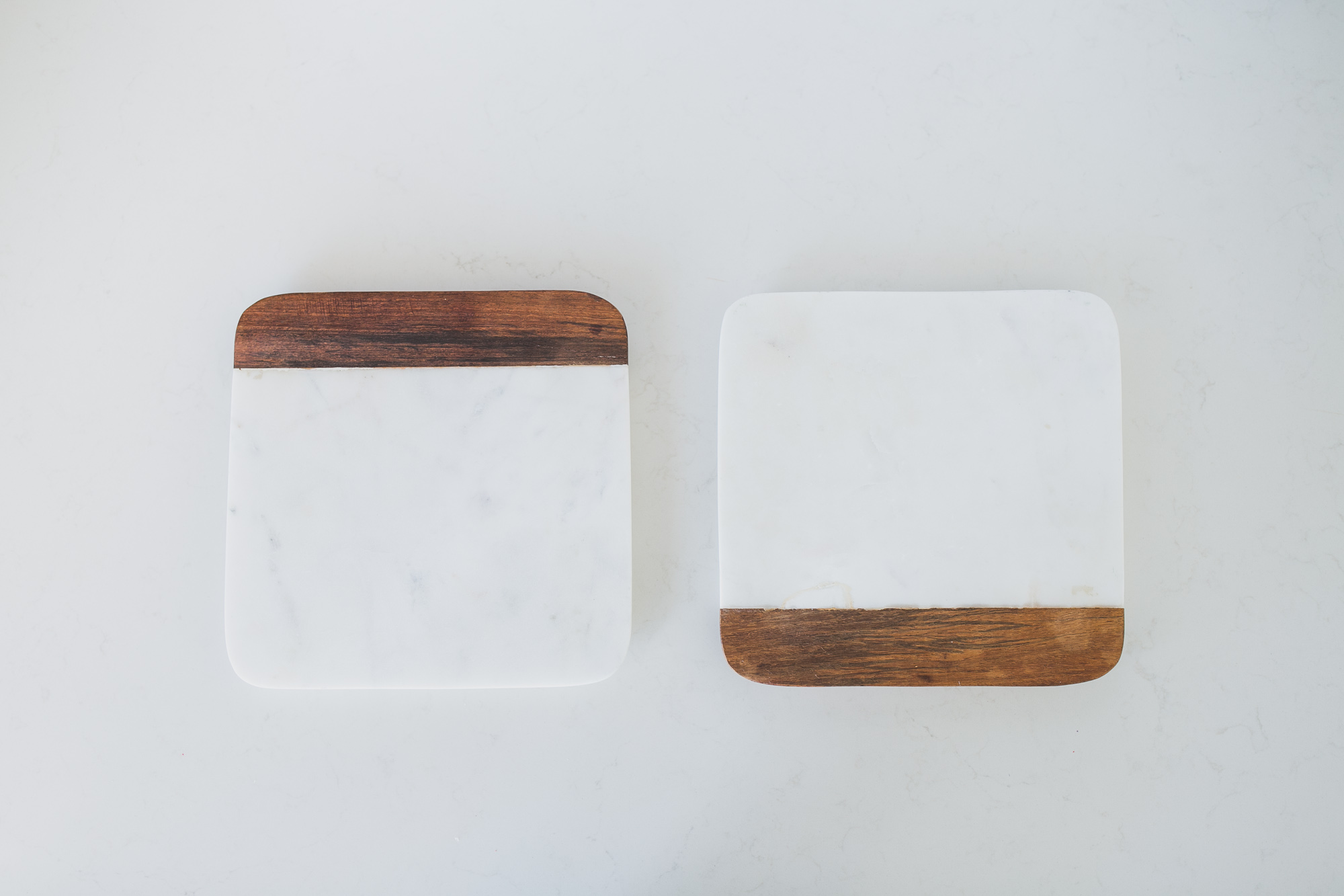 MARBLE WOOD SQUARE BOARD