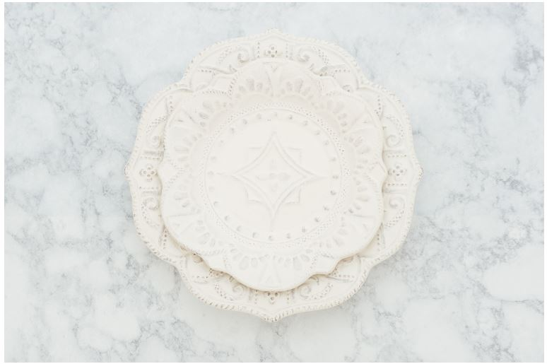 VERSAILLES SALAD AND DINNER PLATE