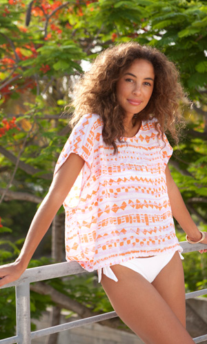 Morning Noon or Night...be light in Cool Change's Boat Tee