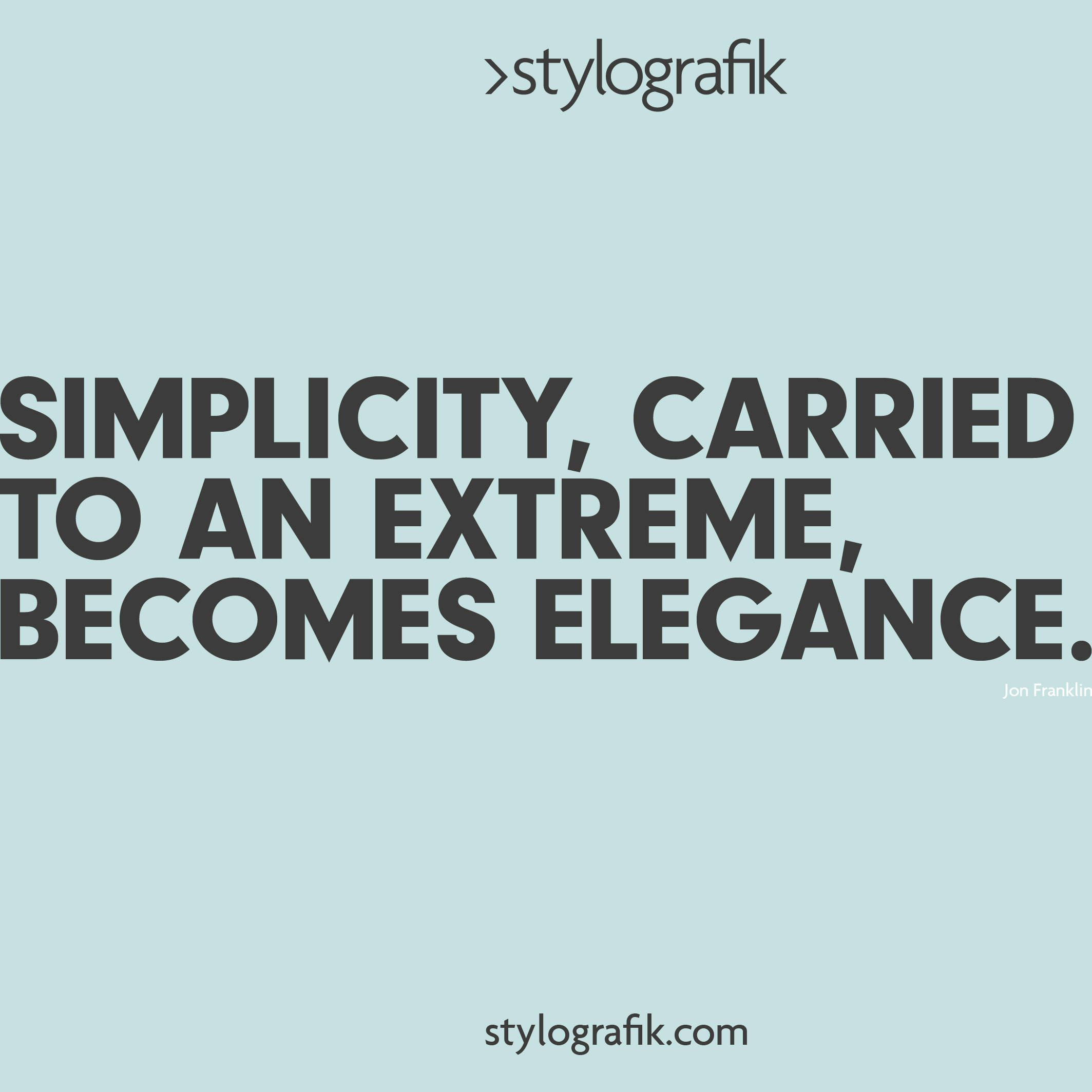 KEEP IT SIMPLE Eliminate clutter to make your brand shine  (COMING SOON)
