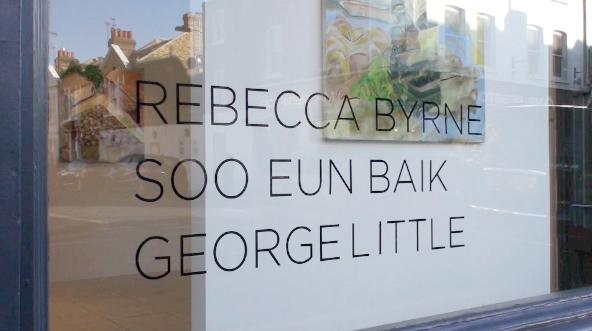 Rebecca Byrne, Soo Eun Baik and George Little Exhibition