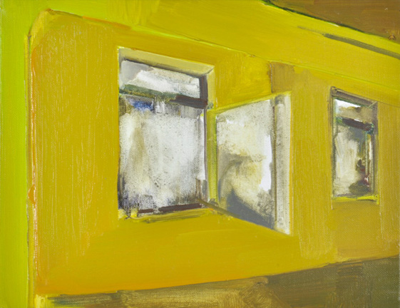 Open Window 2012 Oil on canvas 13.7 x 10.7 in. (35 x 27 cm) RBY0010  ENQUIRE ABOUT THIS WORK