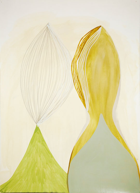 Pair 3 Acrylic on paper 26.3 x 30 in. (60 x 76.2 cm) KAN0002  ENQUIRE ABOUT THIS WORK