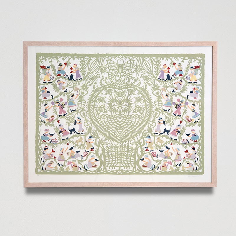 When You Believe Screen Print (Framed) Limited Edition of 70 33 x 25 in. (84 x 64 cm) AHO0013  ENQUIRE ABOUT THIS WORK