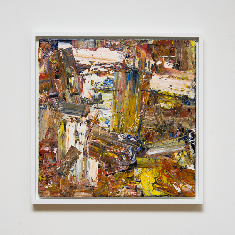 Arnhemland III 2013 Oil on canvas  54 x 54 cm   21 1/4 x 21 1/4 in  ROW0003