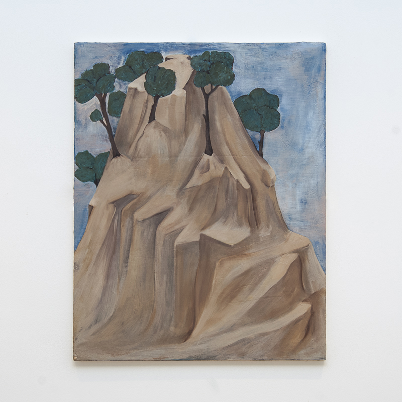 Landscape after Giotto, 2010 by Henrietta Simson