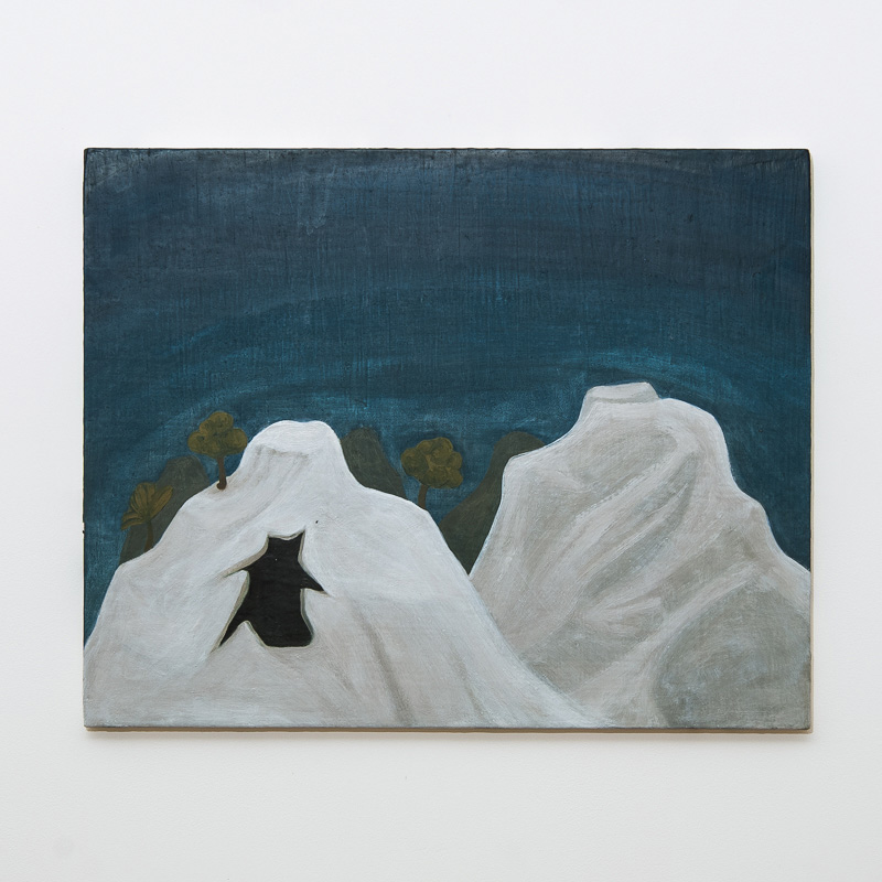 Maddalena's Cave (Extended), 2008 Oil and pigment on gesso panel 48 x 60 cm 18 7/8 x 23 5/8 in HSI0007  ENQUIRE ABOUT THIS WORK