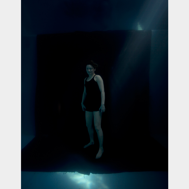 Freediver 2, 2011 C-Type photographic print (Framed) 105.5 x 81.3 cm 41 1/2 x 32 1/8 in ECR0008  ENQUIRE ABOUT THIS WORK