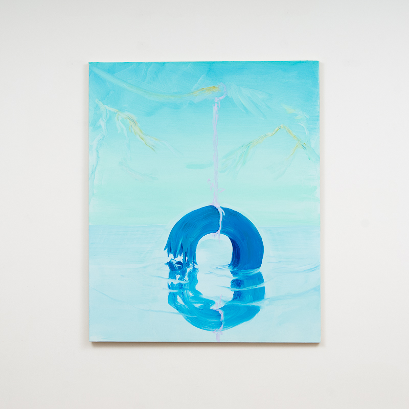 Saltwater, 2014 Oil on canvas 104.5 x 86 cm 41 1/8 x 338 5/8 in MOR0004  ENQUIRE ABOUT THIS WORK