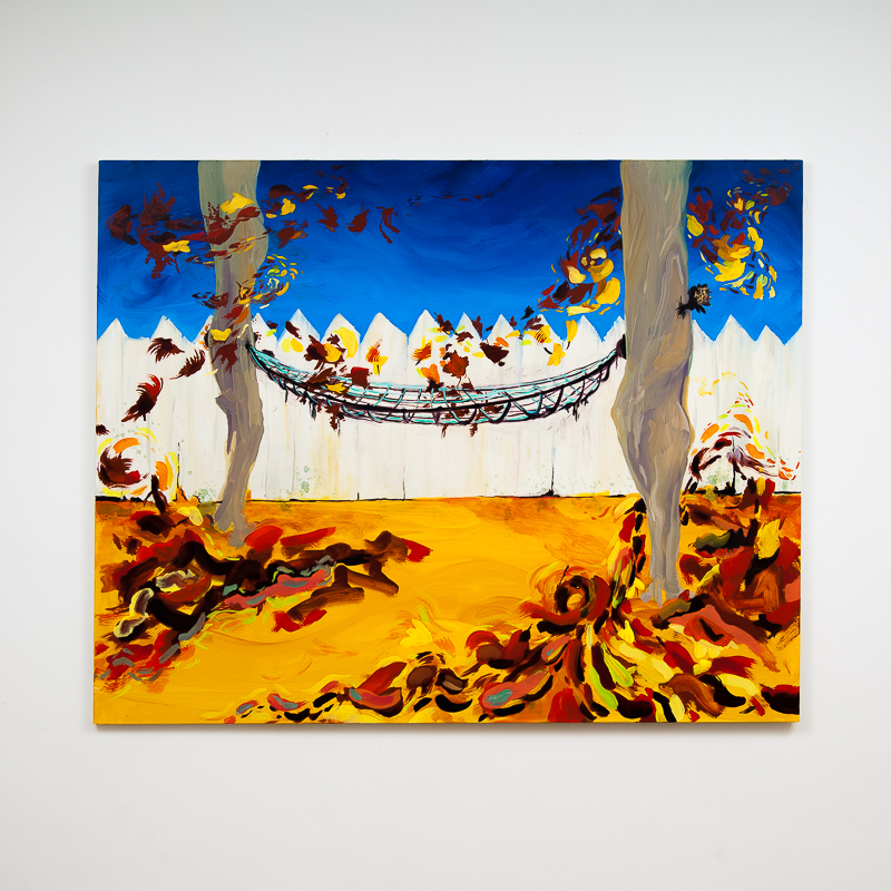 Ripsaw, 2014 Oil on canvas 121.5 x 152.5 cm 47 7/8 x 60 1/8 in MOR0005  ENQUIRE ABOUT THIS WORK