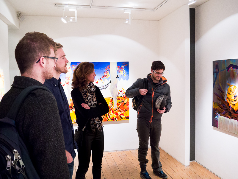 Private VIew Michael O'Reilly solo exhibition at CABIN gallery-1.jpg
