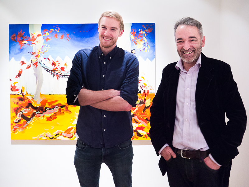 Private VIew Michael O'Reilly solo exhibition at CABIN gallery-10.jpg