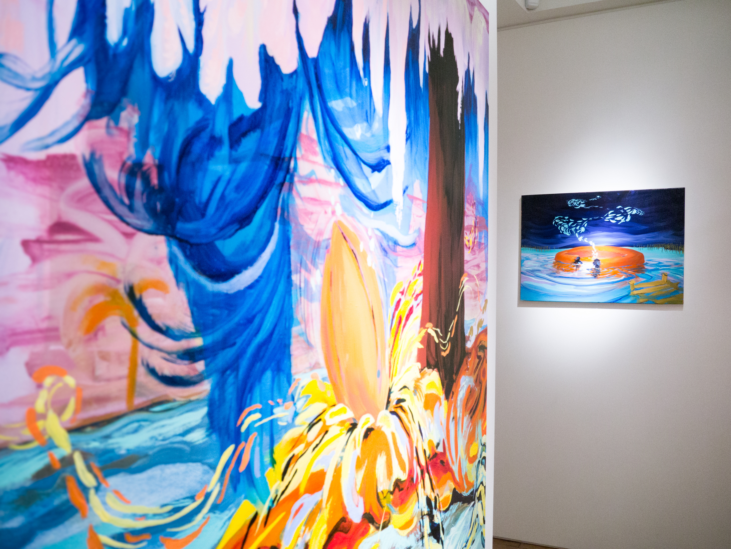 Michael O'Reilly | Saltwater solo exhibition at CABIN gallery curated by Joe Madeira
