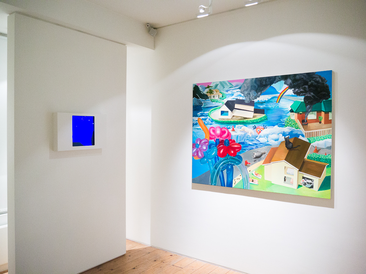 Jaeyeon Yoo   Home-Made Disaster solo exhibition at CABIN gallery curated by Joe Madeira