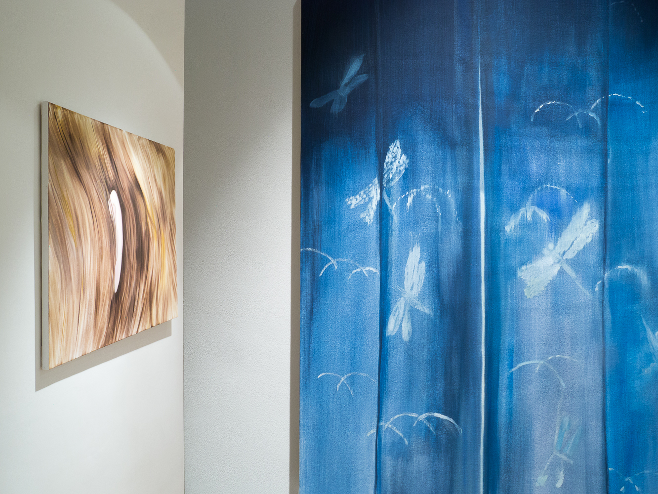 Aglaé Bassens Installation View from her Solo show Front Parting curated by Joe Madeira at CABIN gallery-1.jpg