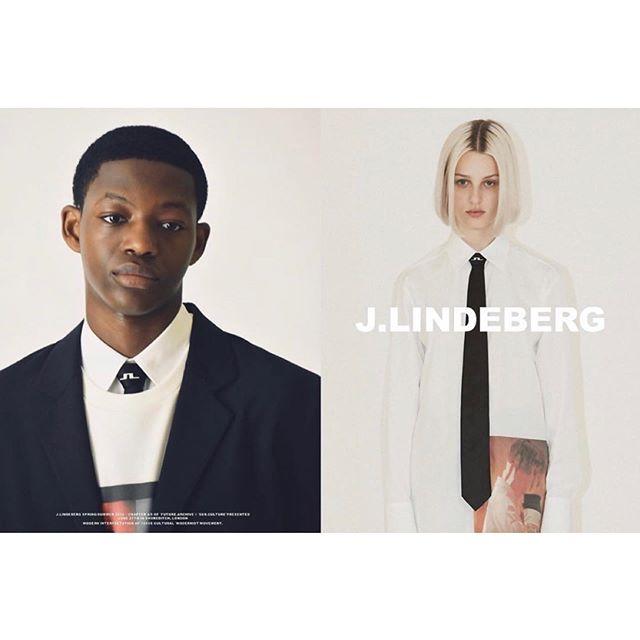 📸 Lookbook for @jlindebergofficial  Hair by me  Makeup @louiselinder_  Photo @kevinbuitrago . . . #lookbook #jlindeberg