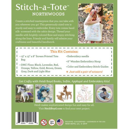 NEW! Stitch-a-Tote™: Northwoods — Heidi Boyd