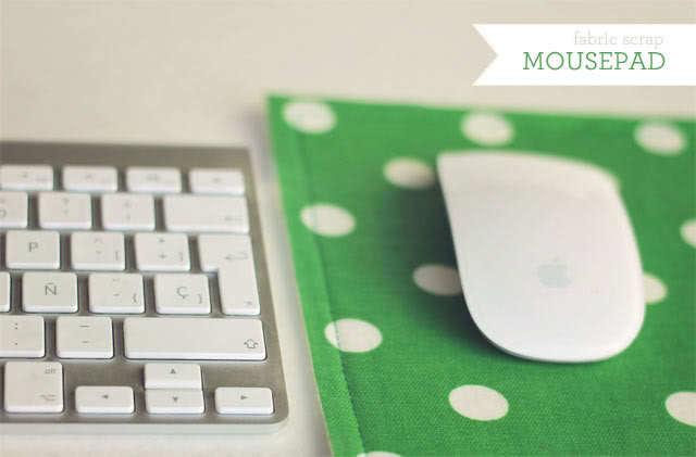 Fabric Mouse Pad by How Joyful