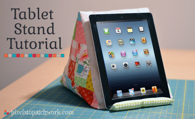 Tablet Stand by from Pixels to Patchwork
