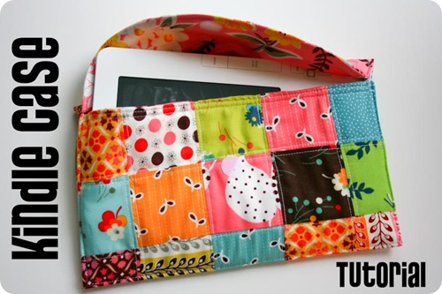 Classic Patchwork Kindle Case from Sometimes Crafter