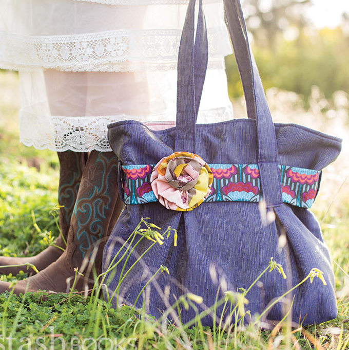 This cute skirt and tote bag are both projects in Just For You!