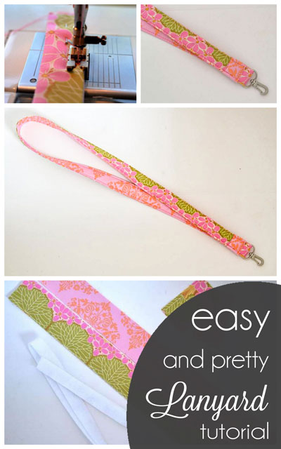 Easy and Pretty Lanyard Tutorial