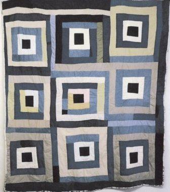 Quilt by Clara Pettway of Gee's Bend.